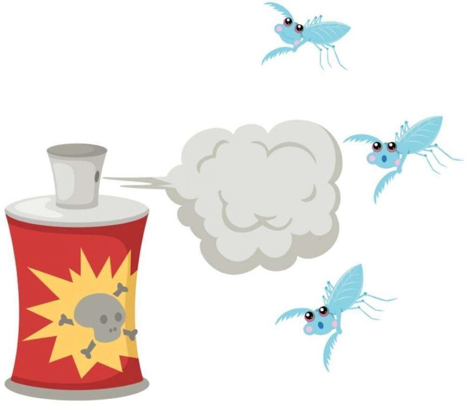 bahaya obat nyamuk semprot untuk bayi