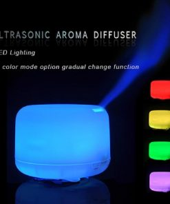 Essential Oil Aroma Diffuser Humidifier 7 LED Color Night Light 500ml