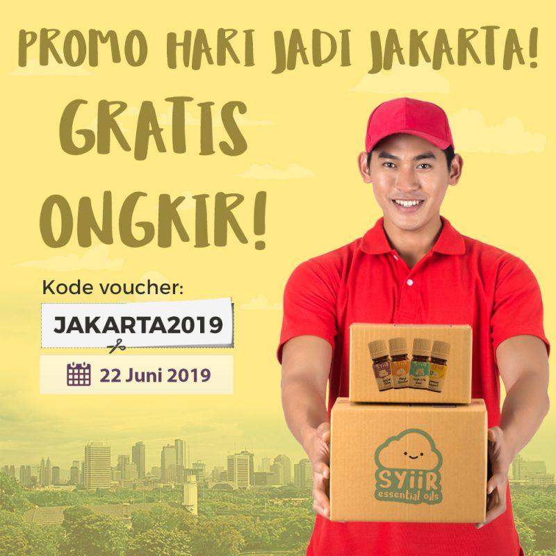 Promo Gratis Ongkir HUT Jakarta 2019